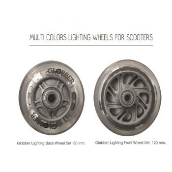 Globber Lighting Back Wheel Set