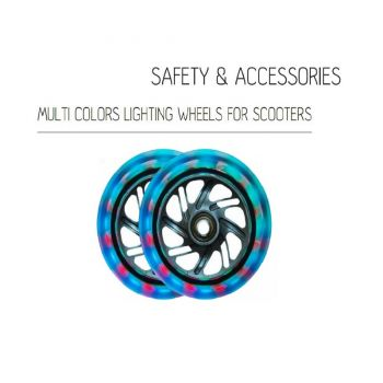 Globber Lighting Front Wheel Set