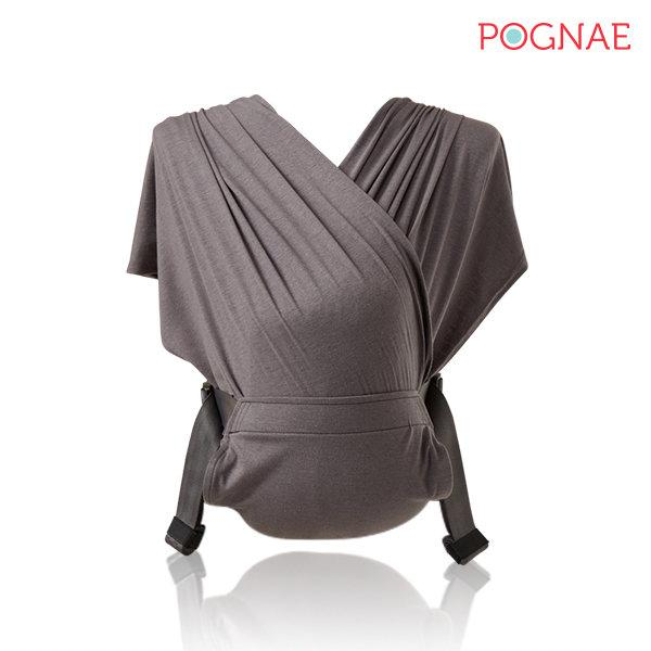 POGNAE No.5 Plus Shawl  - Charcoal