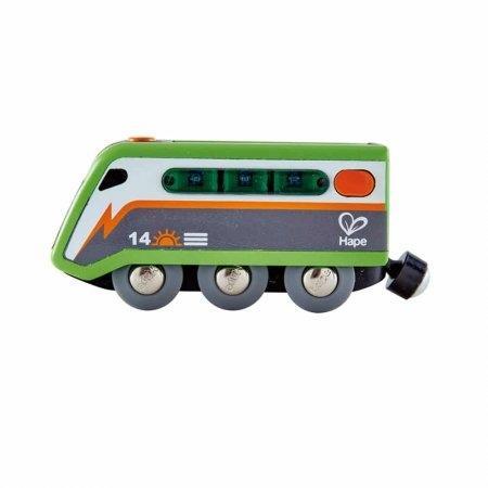 ของเล่นไม้ Hape Solar-Powered Train รถไฟพลังโซลาร์[DS]