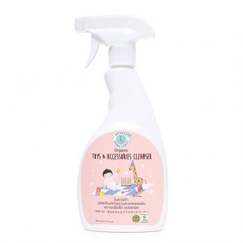 ผลิตภัณฑ์ทำความสะอาดของเล่นเด็ก Botanika (ขวดชมพู)