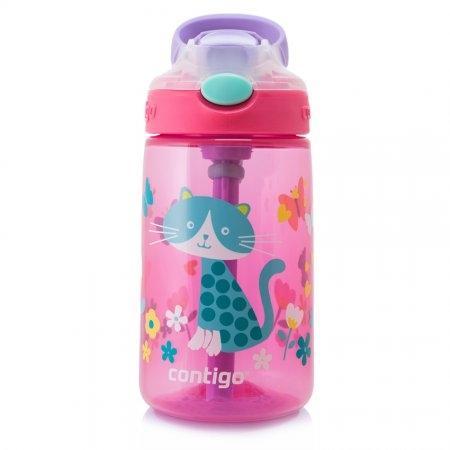 กระติกน้ำเด็กพร้อมหลอดดูด Contigo รุ่น GIZMO FLIP PINK CAT[DS]