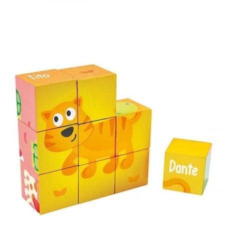 ของเล่นไม้ Hape Block Puzzle[DS]