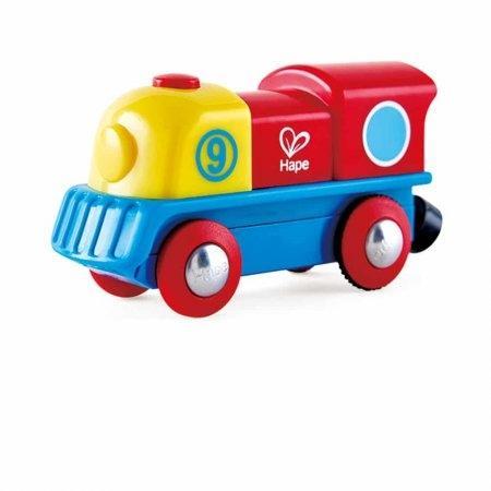 ของเล่นไม้ Hape Brave Little Engine หัวรถไฟน้อยจอมอึด[DS]