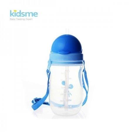 ขวดน้ำพลาสติกพร้อมสายสะพาย KIDSME PP Bottle cup with strap ขนาด 360ml
