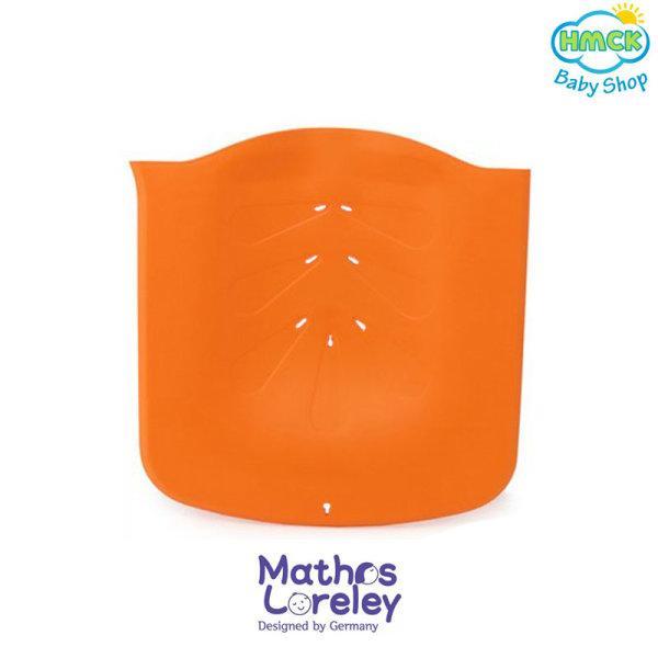 อุปกรณ์เสริมแผ่นพยุงสระผมอาบน้ำ (สีส้ม)