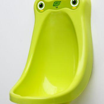 ที่ฝึกฉี่เด็กผู้ชายสีเขียว