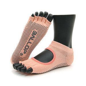 ถุงเท้าโยคะ Ballop รุ่น Felics Peach Pink