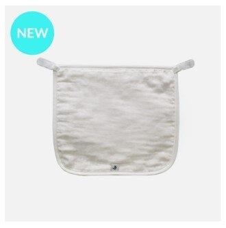 ผ้ากันน้ำลายด้านหน้า Cotton Clip (คลิปติดเสื้อ)