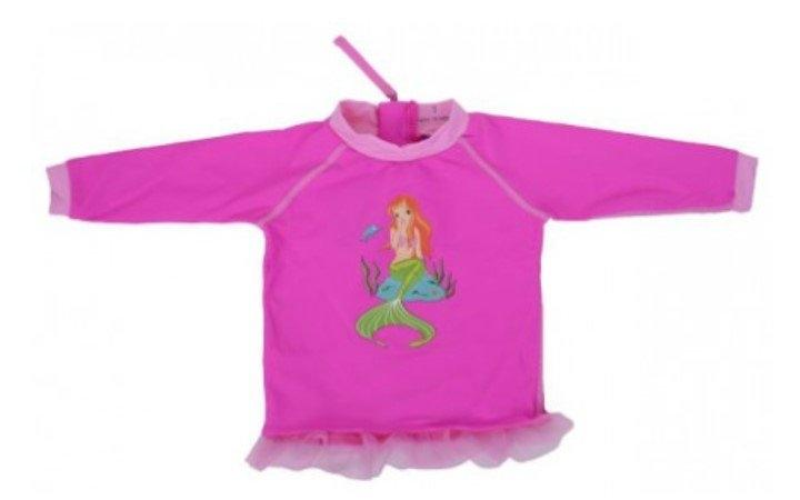 เสื้อว่ายน้ำกัน UV50+ รุ่น Swim Tee Baby Pink (WTC-WA-108-04)