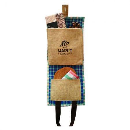 A1 ชุดข้าวอินทรีย์ 2 สายพันธุ์พิเศษจาก HappyFarmers A1 HappyFarmers 'Organic Rice' New Year Gift Set – 2 Special Blends in a Grain Sack Bag