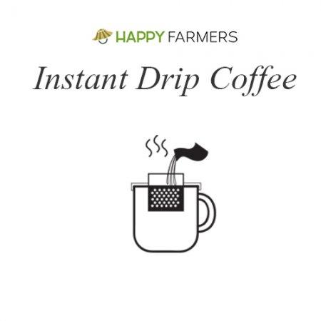 B0 กาแฟอินทรีย์ดริป HappyFarmers แบบ Instant Drip B0 HappyFarmers 'Coffee Grows a Forest' – Instant Drip 100% Arabica Coffee