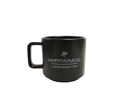 B3 ชุดกาแฟอินทรีย์ดริป HappyFarmers พร้อมดริปเปอร์และแก้วกาแฟ B3 HappyFarmers Organic Coffee Gift Set – Classic Drip Coffee with a Dripper and 2 Mugs