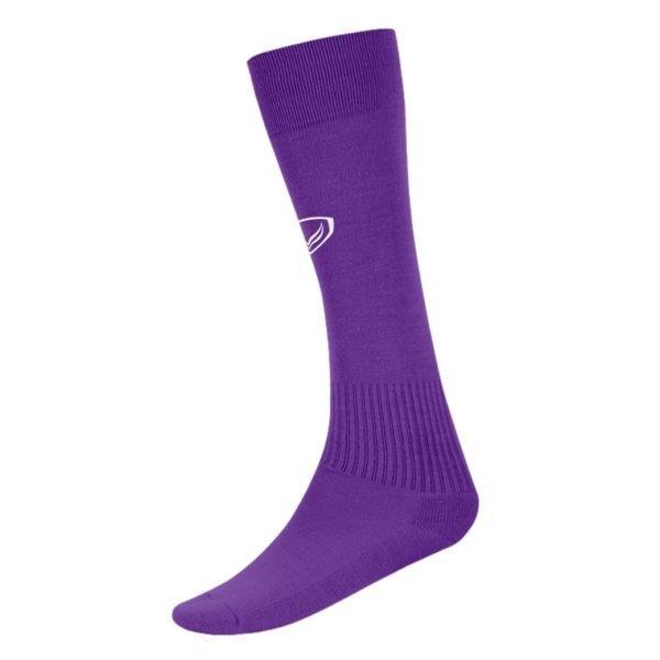 แกรนด์สปอร์ต ถุงเท้ากีฬาฟุตบอลทอลาย(สีม่วง) รหัส: 025006