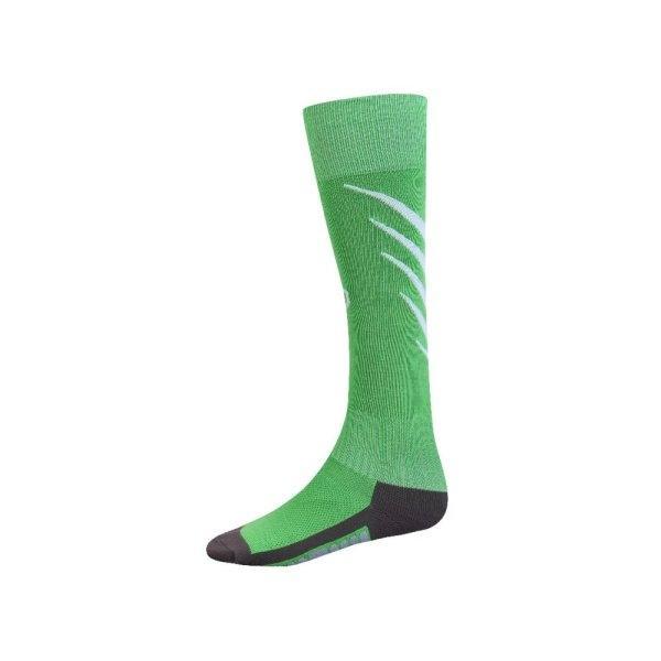 ถุงเท้ากีฬาฟุตบอลทอลาย  รหัส :025135 (สีเขียว)