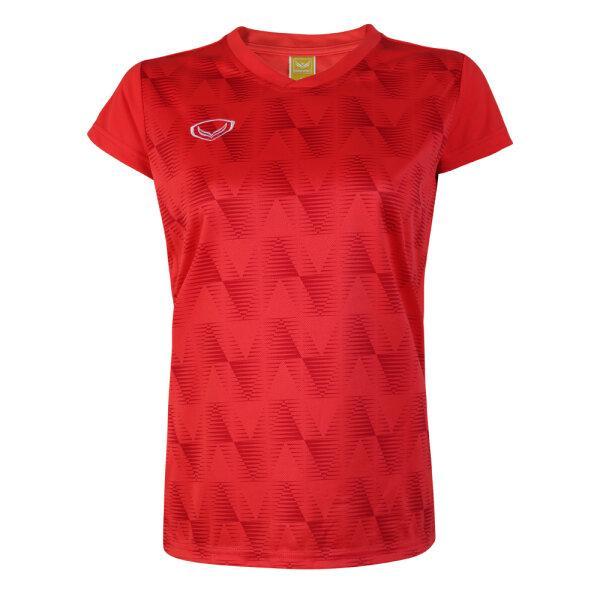 เสื้อวอลเลย์บอลหญิง(สีแดง)รหัส:014303