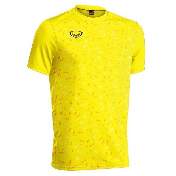 เสื้อกีฬาฟุตบอล แกรนด์สปอร์ต รหัส:011477 (สีเหลือง)