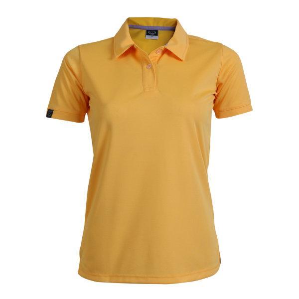 เสื้อโปโลหญิงแกรนด์สปอร์ต รหัสสินค้า : 012772 (สีเหลือง)