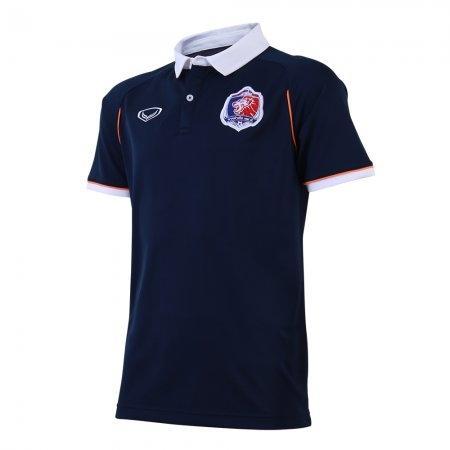 เสื้อโปโลคอปกทีมท่าเรือ 2019 รหัสสินค้า : 040500 (สีกรม)