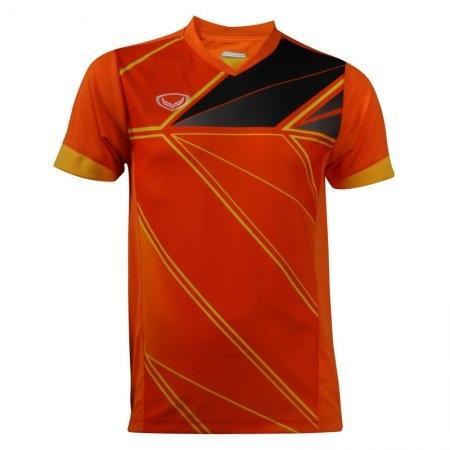 เสื้อกีฬาพิมพ์ลายชาย แกรนด์สปอร์ต (สีส้ม) รหัส : 014220