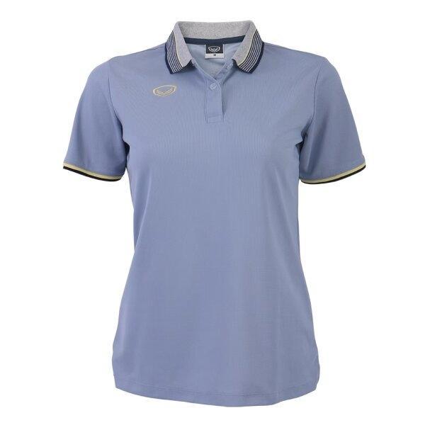 เสื้อโปโลหญิงสีเทา แกรนด์สปอร์ต รหัส :012768