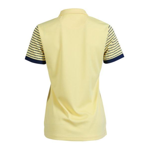 เสื้อโปโลหญิงแกรนด์สปอร์ต รหัสสินค้า : 012778 (สีเหลือง)