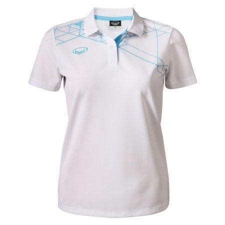 เสื้อโปโลหญิงแกรนด์สปอร์ต(สีขาว) รหัส:012756