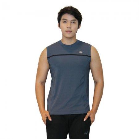 เสื้อแขนกุดชาย แกรนด์สปอร์ต(สีเทา) รหัส: 028389
