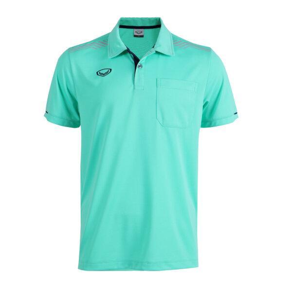 เสื้อโปโลชายแกรนด์สปอร์ต รหัส : 012581 (สีเขียว)