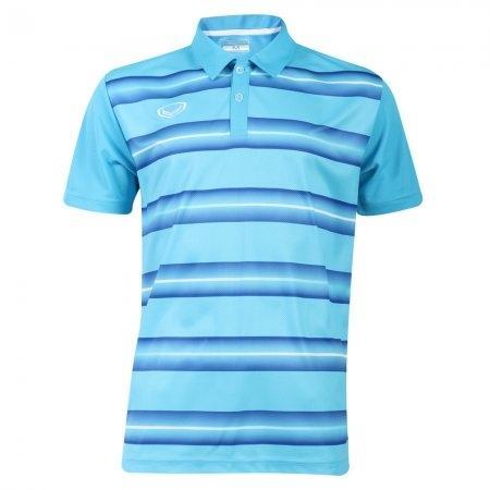 เสื้อโปโลแกรนด์สปอร์ต (สีฟ้า)  รหัส: 072036