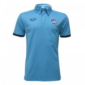 แกรนด์สปอร์ตเสื้อโปโลฟุตบอลทีมชาติ (สีฟ้า)