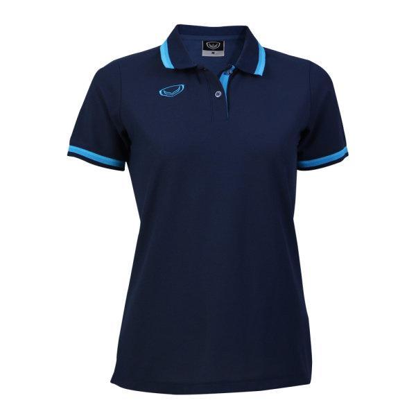 เสื้อโปโลหญิงแกรนด์สปอร์ต รหัสสินค้า : 012780 (สีกรม)