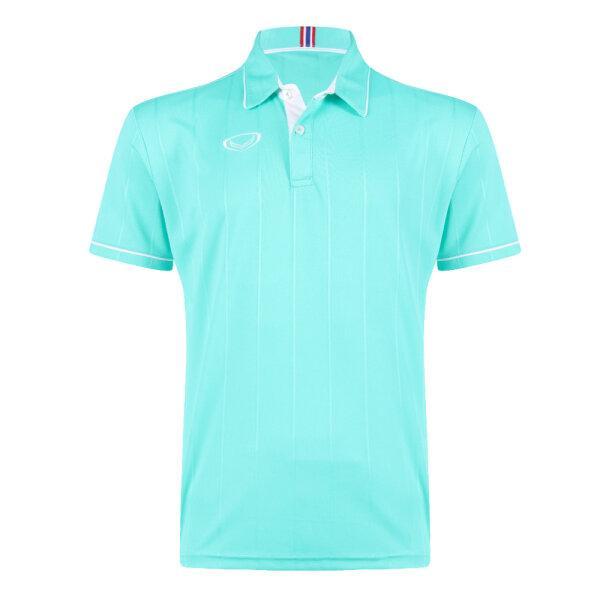 เสื้อคอปกแกรนด์สปอร์ต รหัส : 023183 (สีเขียวมินท์)