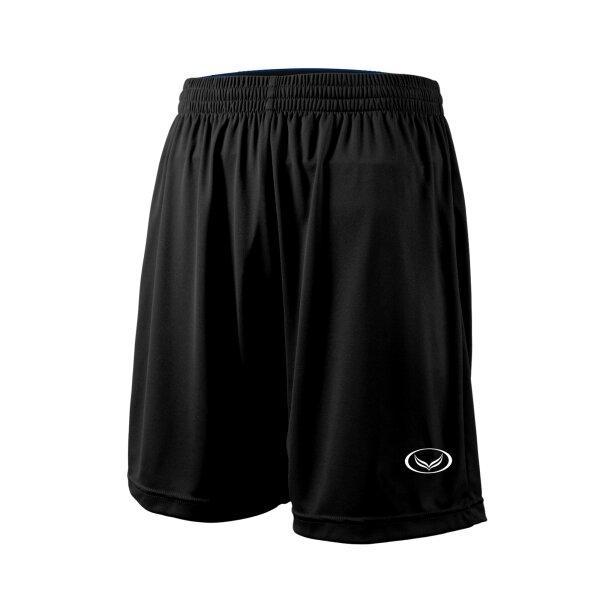 กางเกงฟุตบอลสีล้วน แกรนด์สปอร์ต (สีดำ) รหัส : 001516