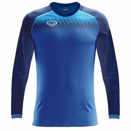 เสื้อฟุตบอลแกรนด์สปอร์ตแขนยาว (สีน้ำเงิน) รหัส :011459