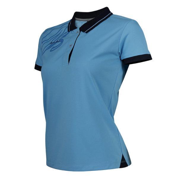 แกรนด์สปอร์ตเสื้อโปโลหญิง (สีฟ้า) รหัส:012738