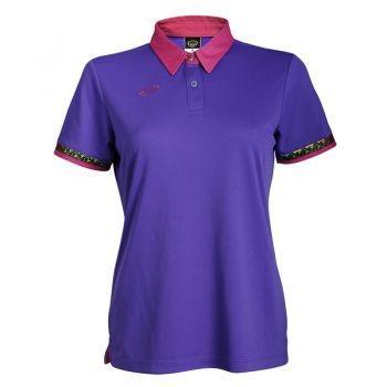 เสื้อโปโลหญิงแขนสั้น(สีม่วง) รหัส : 012746