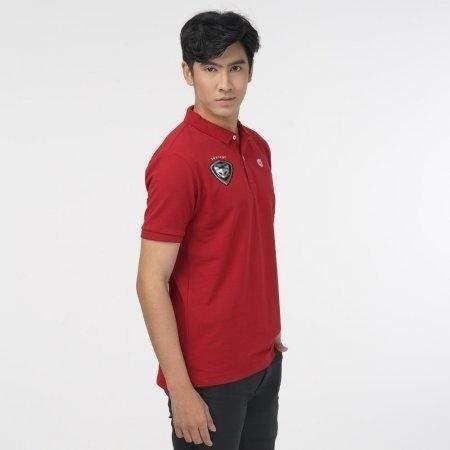 เสื้อโปโลคอปกทีมSWATCAT 2020 รหัสสินค้า : 022021 (สีแดง)