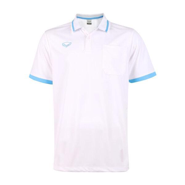 เสื้อโปโลชายแกรนด์สปอร์ต รหัสสินค้า : 012585 (สีขาว)