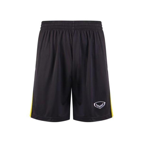 กางเกงกีฬาฟุตบอล แกรนด์สปอร์ต รหัส : 001543 (สีดำ-เหลือง)