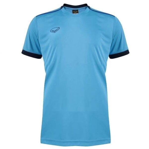 เสื้อกีฬาฟุตบอลตัดต่อ แกรนด์สปอร์ต  รหัสสินค้า : 011541 (สีฟ้า)