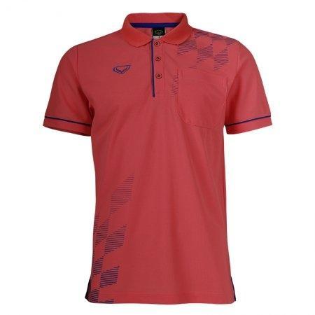 แกรนด์สปอร์ตเสื้อคอปกชาย (สีโอรส) รหัส :012537