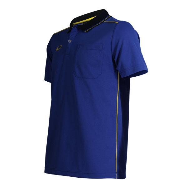 เสื้อโปโลชายแกรนด์สปอร์ต รหัส :012554 (สีน้ำเงิน)