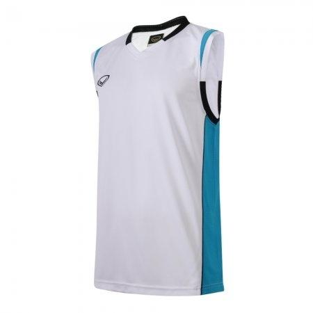 เสื้อบาสเกตบอลแกรนด์สปอร์ตชาย(สีขาว)รหัส:013152