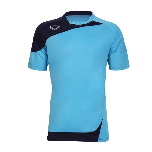 เสื้อประตูฟุตบอล แขนสั้น รหัส :018082 (สีฟ้า)