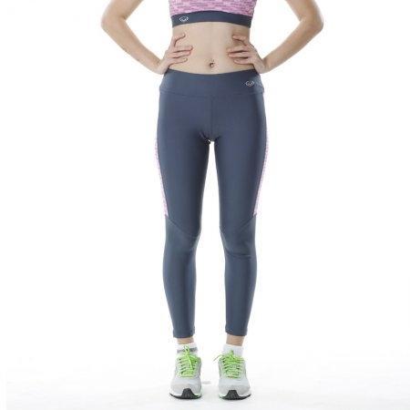 กางเกงออกกำลังกาย แอโรบิค แกรนด์สปอร์ตขายาว (สีเทาชมพู) รหัส:028473