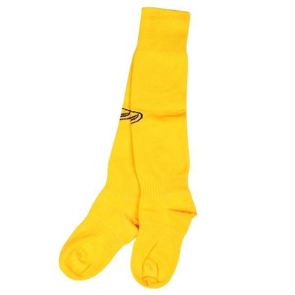 ถุงเท้าฟุตบอลสีล้วน รหัส :025090 (สีเหลือง)