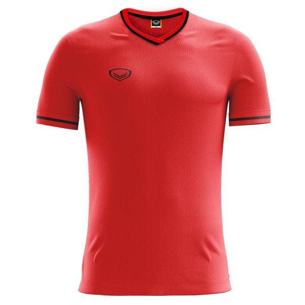 เสื้อฟุตบอลแกรนด์สปอร์ต  รหัส : 011547 (สีแดง)