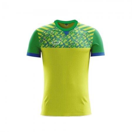 เสื้อฟุตบอลแกรนด์สปอร์ต (สีเขียวแสง) รหัส :011444