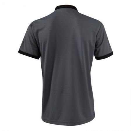 เสื้อกีฬาแกรนด์สปอร์ต แบดมินตัน/ เทนนิส คอปีนพิมพ์ลาย   (สีเทา) รหัส:072033